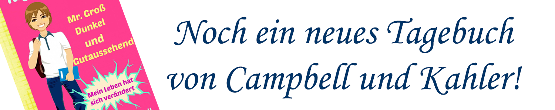 Tagebuch von Mr Groß, Dunkel und Gutaussehend von Kaz Campbell